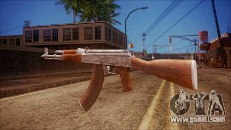 AK-47 v6 from Battlefield Hardline for GTA San Andreas second screenshot
