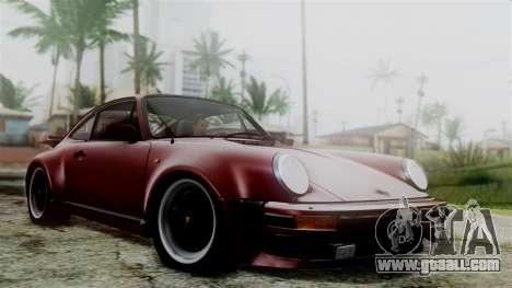 Porsche 911 Turbo (930) 1985 Kit C for GTA San Andreas