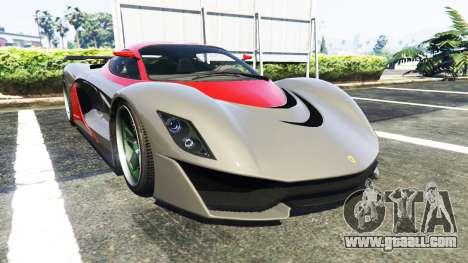 Grotti Turismo R La Ferrari for GTA 5