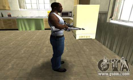 Silver Sniper Rifle for GTA San Andreas third screenshot