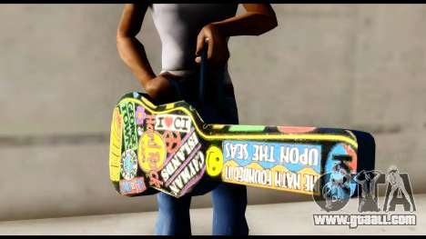 Guitar Case MG Colorful for GTA San Andreas third screenshot