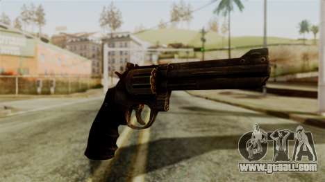 Colt Revolver from Silent Hill Downpour v1 for GTA San Andreas