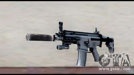 MK16 PDW Advanced Quality v1 for GTA San Andreas