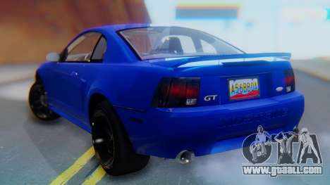 Ford Mustang 1999 Clean for GTA San Andreas left view