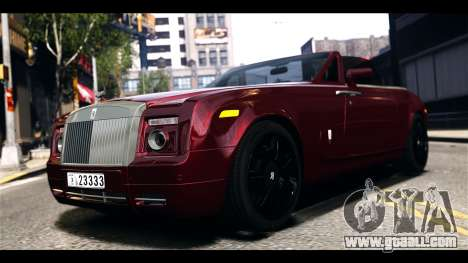 Rolls-Royce Phantom 2009 Coupe v1.0 for GTA 4 left view