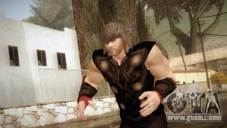 Thor Custom Skin for GTA San Andreas