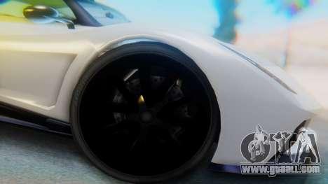 GTA 5 Pegassi Osiris IVF for GTA San Andreas back view