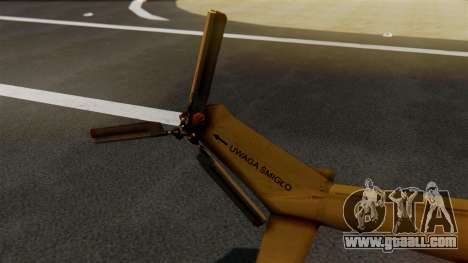 PZL W-3PL Grouse for GTA San Andreas back left view