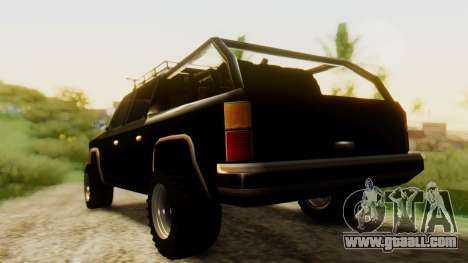 FBI Rancher Offroad for GTA San Andreas left view
