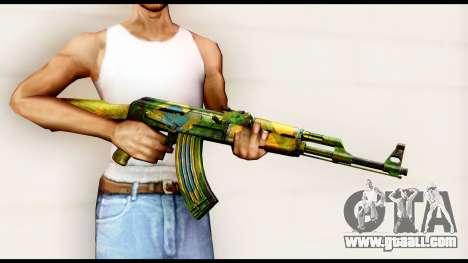Brasileiro AK-47 for GTA San Andreas third screenshot