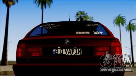 BMW M5 Touring E34 for GTA San Andreas right view