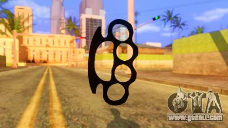 Atmosphere Brass Knuckle for GTA San Andreas second screenshot