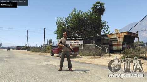 Mod Menu (No More Hotkeys) 2.0 for GTA 5