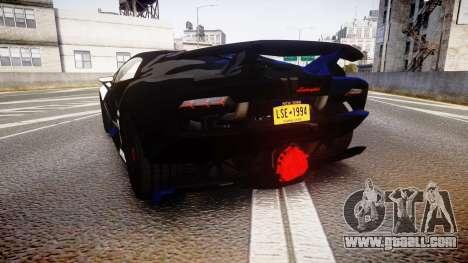 Lamborghini Sesto Elemento 2011 for GTA 4 back left view