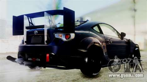 Toyota GT86 for GTA San Andreas right view
