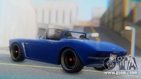 Invetero Coquette BlackFin Convertible for GTA San Andreas left view