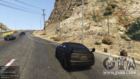 GTA 5 Nitro Mod (Xbox Joystick support) 0.7 third screenshot