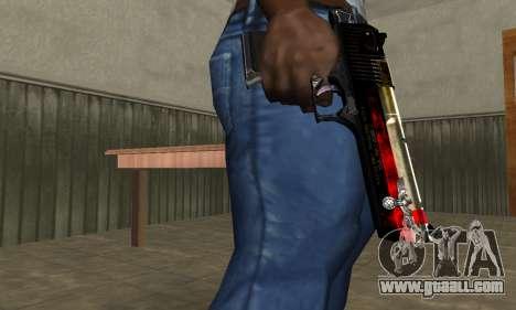 Totenkopf Deagle for GTA San Andreas