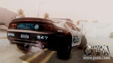 Hunter Citizen from Burnout Paradise Police SF for GTA San Andreas left view