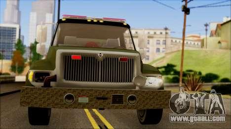 SANG Combat Rescue International for GTA San Andreas inner view