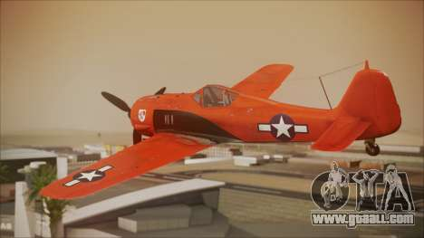 FW-190 A-8 US Air Force for GTA San Andreas left view
