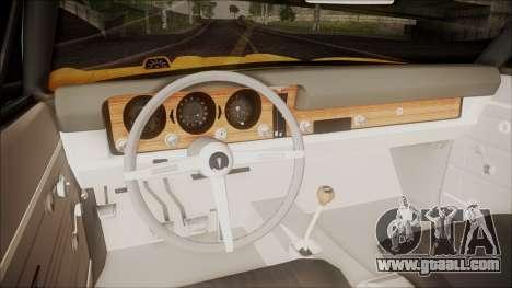 Pontiac GTO 1968 for GTA San Andreas back view