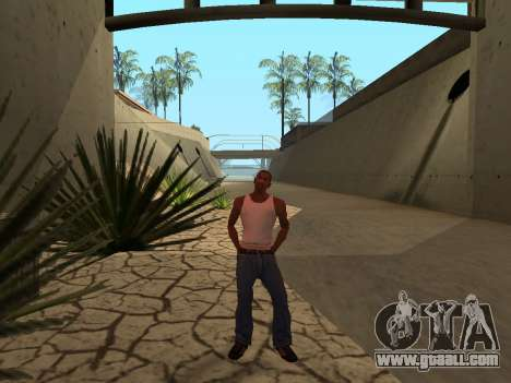 Ped.ifp Animation Gopnik for GTA San Andreas third screenshot