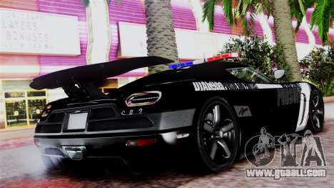 NFS Rivals Koenigsegg Agera R v2.0 for GTA San Andreas left view