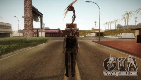 RE4 Don Hose Plagas for GTA San Andreas third screenshot
