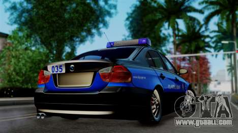 BMW 330i E46 YPX for GTA San Andreas left view