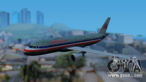 Airbus A320-200 American Airlines (Old Livery) for GTA San Andreas