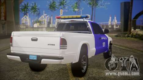 Dodge Dakota Iraqi Police for GTA San Andreas left view