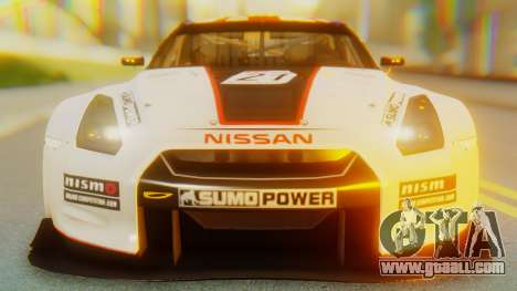 Nissan GT-R GT1 Sumo Tuning for GTA San Andreas inner view