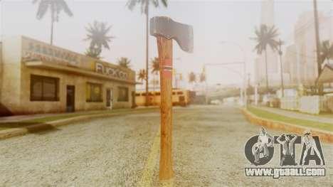GTA 5 Hatchet v1 for GTA San Andreas second screenshot