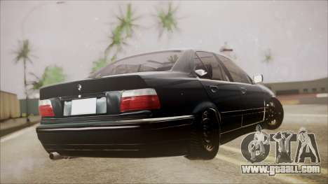 BMW M5 E36 for GTA San Andreas left view