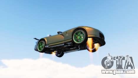 Vehicles Jetpack v1.2.2 for GTA 5