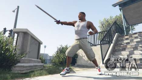 GTA 5 Master Sword second screenshot