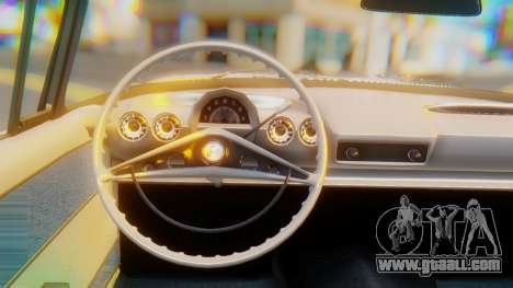 Chevrolet Impala 1960 for GTA San Andreas right view