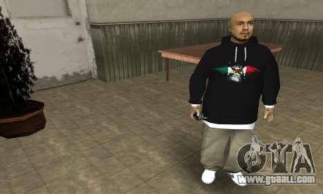 Rifa Skin First for GTA San Andreas third screenshot