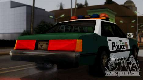 VCPD Cruiser for GTA San Andreas back left view