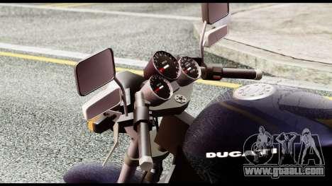 Ducati FCR-900 v4 for GTA San Andreas back view