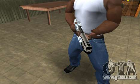 White Shotgun for GTA San Andreas second screenshot