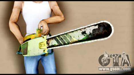 Brasileiro Chainsaw for GTA San Andreas