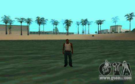 Walking on water for GTA San Andreas second screenshot