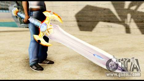 Sword paladin for GTA San Andreas second screenshot