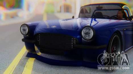 Invetero Coquette BlackFin v2 SA Plate for GTA San Andreas side view