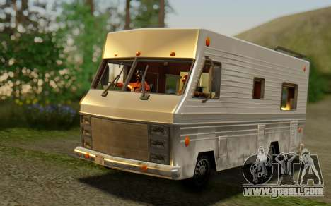 Winnebago Brave 1979 for GTA San Andreas