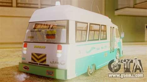 JAC Microbus for GTA San Andreas left view