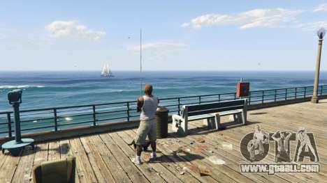 Fishing Mod 0.2.7 BETA for GTA 5