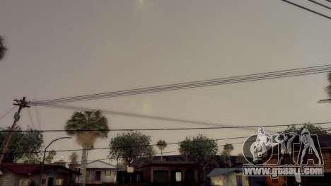 Natural and Realistic ENB for GTA San Andreas fifth screenshot